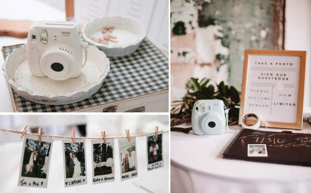 guestbook photoboot polaroid